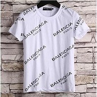 Balenciaga Fashion Casual Shirt Top Tee for women men