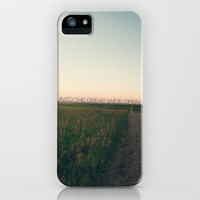 Into the Great Wide Open iPhone Case by CMcDonald | Society6