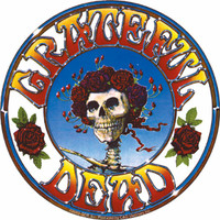 Grateful Dead - Skull & Roses #2 Logo Sticker