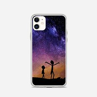 Rick And Morty Space Nebula iPhone 11 Case
