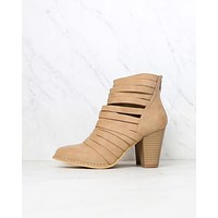 Eve Strappy Stacked Chunky Ankle Booties in More Colors