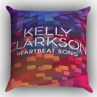 Heartbeat Song X0674 Zippered Pillows  Covers 16x16, 18x18, 20x20 Inches
