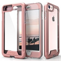iPhone 8 Case / iPhone 7 Case, Zizo [ION Series] with FREE [iPhone 8 Screen Protector] Transparent Clear [Military Grade Drop Tested]
