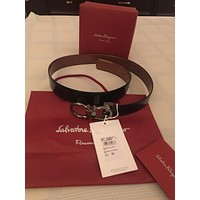 salvatore ferragamo mens belt 38