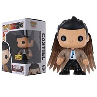TOP Television #95 Supernatural Castiel with Wings Exclusive Figure