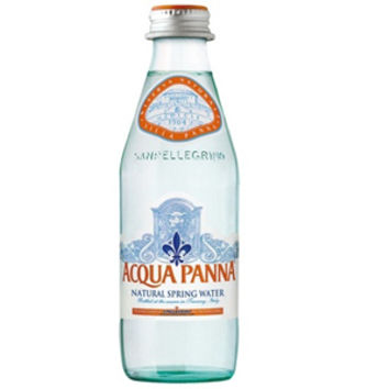 Acqua Panna Natural Spring Water 250 ml Glass Bottles - Case of 24
