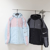 Nike Autumn Winter Popular Women Loose Print Hoodie Sweatshirt Sweater Top