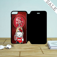 49Ers Hello Kitty Iphone 6 | 6 Plus Flip Case