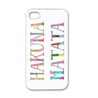 Hakuna Matata iPhone 4/4S Case Made to Order