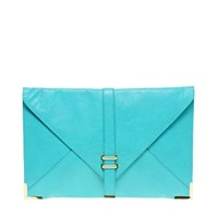 ASOS Slot Through Portfolio Clutch at asos.com