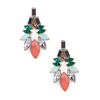 Sole Society Crystal Statement Earring