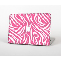 """The Pink & White Vector Zebra Print Skin for the Apple MacBook Air 13"""""""