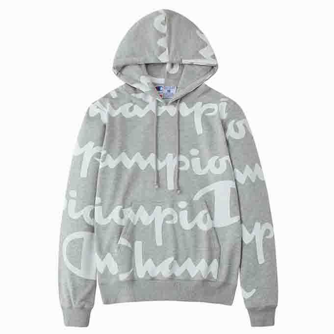 Image of Champions Fashion Long Sleeve Embroidery Sweater Top Hoodie