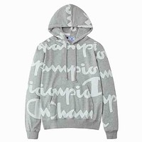 Champions Fashion Long Sleeve Embroidery Sweater Top Hoodie