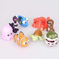 8Pcs/Set Finding Dory Figures Toys Finding Nemo 2 PVC Action Figure Toys For Kids furnishing articles Dolls