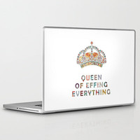her daily motivation Laptop & iPad Skin | Print Shop