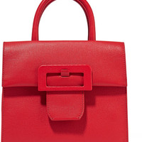 Maison Margiela - Buckle textured-leather tote