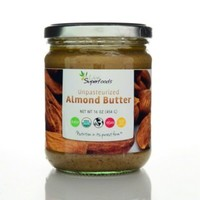 Live Superfoods Raw Unpasteurized Almond Butter