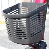 Pride Scooter Large Front Basket ACCASMB2333 - Pride Accessories Front Baskets   TopMobility.com