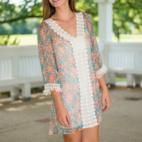 Breeze On By Dress, Taupe