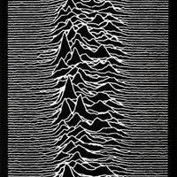 Joy Division punk Poster Unknown Pleasures Ian Curtis 23 x 33in
