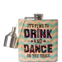 Drink and Dance Flask