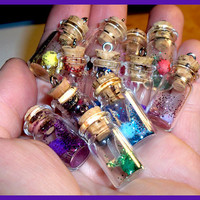Fairy in a bottle   Charm only by Lyndarsia on Etsy