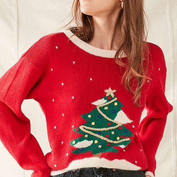 Vintage Christmas Sweater | Urban Outfitters