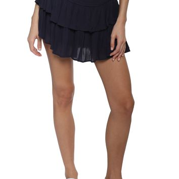 Gab & Kate Ruffle Mini Skirt