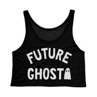 Future Ghost Tank Top Crop