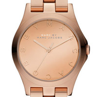MARC BY MARC JACOBS 'Henry Glossy' Bracelet Watch | Nordstrom