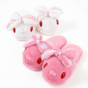 CHACKS GP Hanyo Usagi Fluffy Slippers