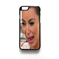 Kim Kardashian Cry Ugly Face master For Iphone 4/4S Iphone 5/5S/5C Iphone 6/6S/6S Plus/6 Plus Phone case ZG