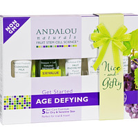 Andalou Naturals Get Started Age Defying - 5 Piece Kit