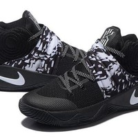 DCCK Nike Kyrie Irving 2 Black/White Basketball Shoe