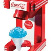 Nostalgia RSM702COKE Limited Edition Coca-Cola Single Snow Cone Maker with Cup