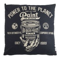 OBEY, Paint It Black Pillow - Accessories - MOOSE Limited