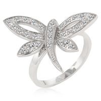 Dragonfly Inspired Ring