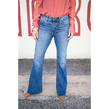 Who Do You Love Flare Jeans