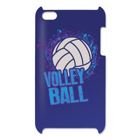 Volleyball Splatter iPod Touch Case