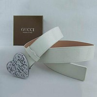 Boys & Men Gucci Men Fashion Smooth Buckle Belt Leather Belt