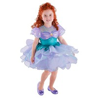 Disney Ariel Ballerina Costume - Kids (Purple/Seashell/Turquoise)