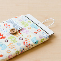 ELEPHANT IPAD MINI Sleeve iPad Case iPad Mini Case iPad Mini Cover Fabric Sleeve iPad Sleeve Accessories iPhone 6+ Sleeve iPhone 6 Sleeve