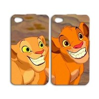 Cute Disney Lion King Case Simba Nala iPod Cover iPhone Cool Funny Animal Custom