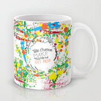Miss Frizzles mantra ...take chances make mistakes get messy Mug by Studiomarshallarts