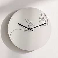 "Explicit Design For Deny Dreamy Girl 12"" Wall Clock 