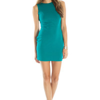 Jenna Mini Dress (Teal)