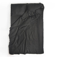 Duvet cover King Black linen bedding Minimal modern by Lovely Home Idea