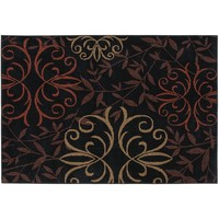 Orian Collection Josselin Floral Indoor Outdoor Rug