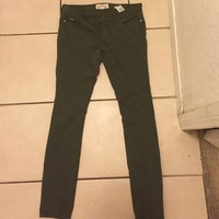 Military Colored Green Holiister Jeggings